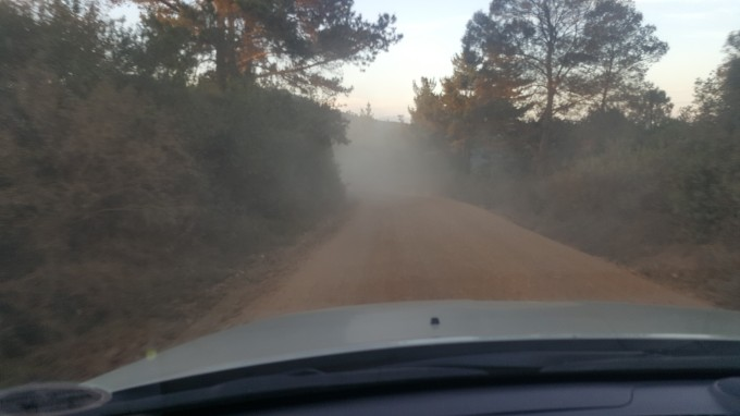 Dusty dirt road 1