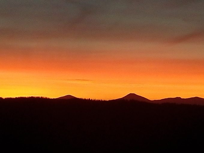 Plett sunset